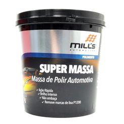 Mills Super Massa - Massa de Polir Automotiva - (1Kg)