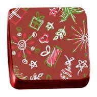 Transfer para Chocolate (40 x 30cm) - Presentes de Natal