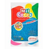 Granulado Crocante Azul 500g - Mil Cores