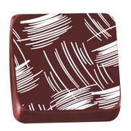 Transfer para Chocolate (40 x 30cm) - Pincelada Branco