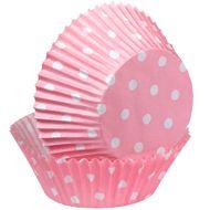 Pink Polka Dots Baking Cups - Wilton