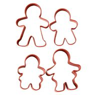 Gingerbread Family Cookie Cutter Set - Wilton