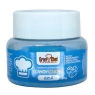 Corante Lipossolúvel em Pó para Chocolate Azul Candy Colors (30g) - Gran Chef