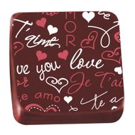 Transfer para Chocolate (40 x 30cm) - Love
