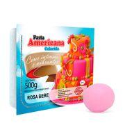 Pasta Americana Rosa Bebê 500g - Arcolor