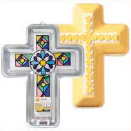 Assadeira Bolo de Crucifixo Cross Pan - Wilton