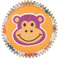 Forminha de Papel para Cupcake Jungle Pals - Wilton