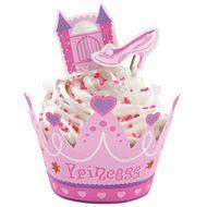 Princess Cupcake Wraps' n Pix - Wilton