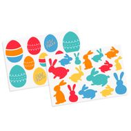 Adesivos Ovos e Coelhos de Páscoa (26uni) - Cromus