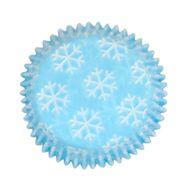 Forminha para Mini Cupcake Mago (45uni) - Flocos de Neve