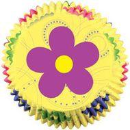 Forminha de Papel para Mini Cupcake Dancing Daisy - Wilton
