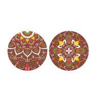 Blister Bola de Natal de Chocolate 7cm (8uni) Lotus - Stalden