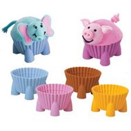 Silly Critters Silicone Baking Cups - Wilton
