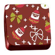 Transfer para Chocolate (40 x 30cm) - Enfeite Noel