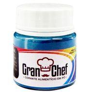 Corante Lipossolúvel em Pó para Chocolate Azul (5g) - Gran Chef