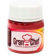 Corante Lipossolúvel em Pó para Chocolate Vermelho (5g) - Gran Chef