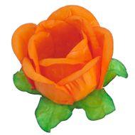 Forminha Flor para Doces (40 uni) - Laranja Claro