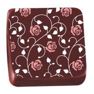 Transfer para Chocolate (40 x 30cm) - Rosas