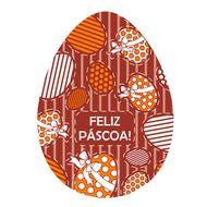 Blister Ovo de Páscoa 500g - Feliz Páscoa