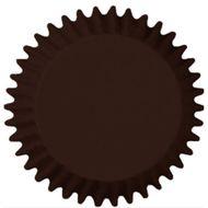 Forminha para Cupcake Mago (45uni) - Marrom