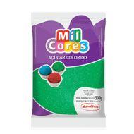 Açúcar Verde para Decoração (500g) - Mil Cores