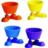 Silly Feet Silicone baking Cups - Wilton
