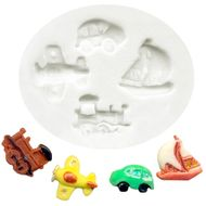 Molde de Silicone Kit Transporte Pequeno - Gummies