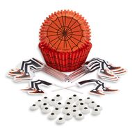 Spooky Pop Spider Cupcake Decorating Set - Wilton