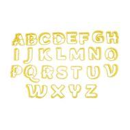 Conjunto Cortadores Letras 1 Maiúsculas - BlueStar