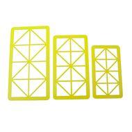 Kit Cortadores Geométricos Triângulos - BlueStar