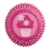 Forminha de Papel para Mini Cupcake Pink Party - Wilton