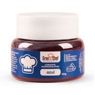 Corante Hidrossolúvel em Pó (30g) Azul - Gran Chef