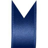 Fita Cetim Duplo Progresso (0,4cm x 100m) - Azul Marinho