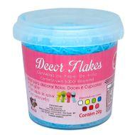 Decor Flakes Azul (20g) - Mago