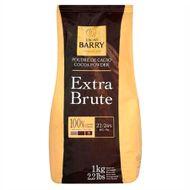 Cacau em Pó Extra Brute 22/24% Gordura (1kg) - Cacao Barry