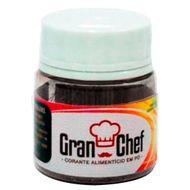 Corante Hidro/Lipossolúvel em Pó para Chocolate Preto (2,5g) - Gran Chef