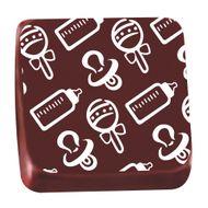 Transfer para Chocolate (40 x 30cm) - Bebê Branco