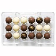 Forma de Chocolate em Policarbonato Esfera (2,5cm) - Decora