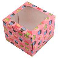 Caixa Bolinhos - 1 Cupcake (5 uni)