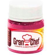 Corante Lipossolúvel em Pó para Chocolate Magenta (5g) - Gran Chef