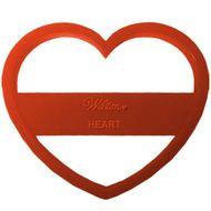 Cortador de Coração Plástico - Wilton