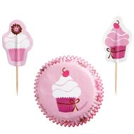 Pink Party Cupcake Combo Pack - Wilton