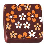 Transfer para Chocolate (40 x 30cm) - Violeta Laranja