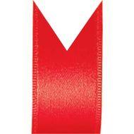 Fita Cetim Duplo Progresso (0,4cm x 100m) - Vermelho