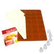 Conjunto Tapete e Bicos para Macarons - Zenker
