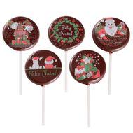 Blister Pirulito de Natal - Noel e Presentes (5 uni)