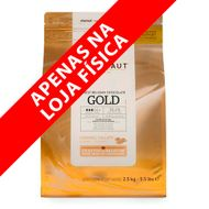 Chocolate Callebaut Caramelo Gold 30,3% Cacau em Callets (2,5kg) - Callebaut