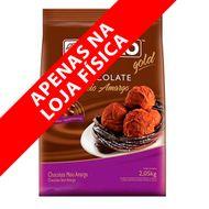 Chocolate Sicao Gold Meio Amargo Gotas (2,05kg) - Sicao