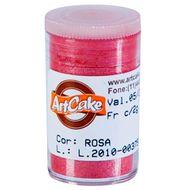 Pó Brilhante para Acabamento ArtCake - Rosa