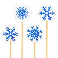 Enfeite Floco de Neve (12uni) - Papel Confeito